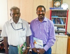 Mr Sugu Maran meeting with Tamil Virtual Academy Director Mr Nakkeeran (12th Nov 2013)
