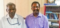 Mr Sugumaran meeting with Tamil Virtual Academy Director Dr Nakkeeran (12th Nov 2013)