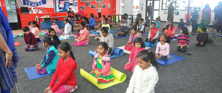 Art of Living Classes at the Australian Tamil Academy
